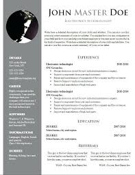 downloadable resume template downloadable resume templates free doc template dot org