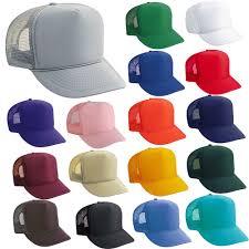 4 dozen trucker hats wholesale bulk lot 48 mesh caps