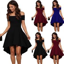 awesome 2017 womens summer casual off shoulder party evening