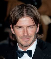 center part mens hairstly david beckham hairstyles through the years cool men s hair