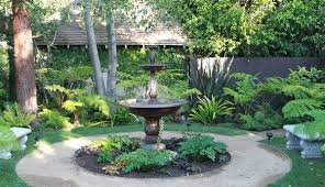 outdoor water features with lights 19 outdoor fountain designs ideas design trends premium psd