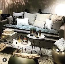 canape boheme canapé boheme en froissé beige ciment avec sofa cover velours