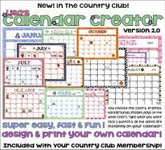 design your own calendar printable printable online calendar