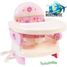 Booster Chairs For Toddlers Eating by Infant Folding Booster Seat Pink Portable Kids Table Eating High