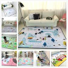 tapis pour chambre bebe tapis pour chambre enfant 150 200 cm apais bande dessinace tapis