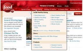 website menu design cool website menu design ideas