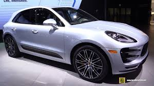porsche turbo macan 2017 porsche macan turbo performance package exterior and