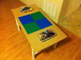 Legos Table How To Make A Lego Table Out Of Pvc Pipe 4 Steps With Pictures