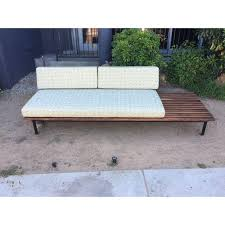 Mid Century Daybed Mid Century Daybed Sofa W Built In Side Table West Coast Modern La