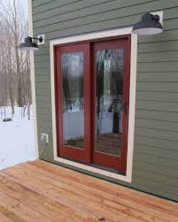 outside front door lights accessories fair home exterior design ideas using maroon wood and