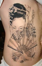 beautiful women u0026 koi fish tattoos designs side body rib women