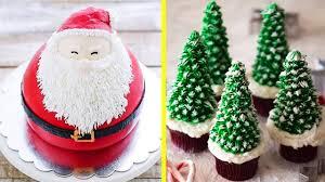 amazing christmas cake decorating ideas compilation 1 most