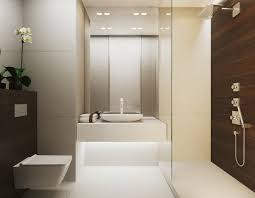 Modern Bathroom Design by Warm Modern Interior Design