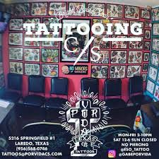 por vida tattoos tattoo studio in laredo tx