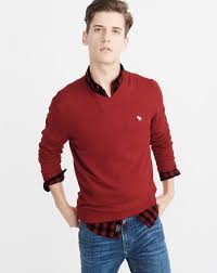 mens crewneck v neck sweaters abercrombie fitch