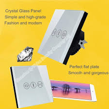 Curtain Vision Q Vision Smart Home Remote Control Wall Touch Curtain Switch Eu