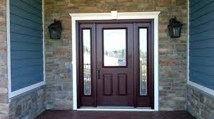 Exterior Door With Side Lights Glass Entry Doors With Sidelights Unparalleled Entry Door With