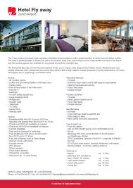 factsheet hotel fly away welcome hotels 2017 en by welcome hotels