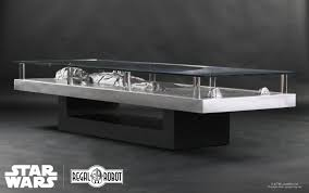 Display Case Coffee Table by Han Solo Carbonite Coffee Table Regal Robot