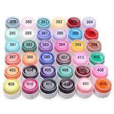 wholesale selling popular pure colors gel nail polish uv nail