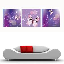 Kids Bedroom Wall Paintings Online Buy Wholesale Purple Wall Paintings For Kids Bedroom From