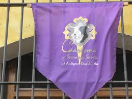 Flag Of Antigua The Power Of Purple During Semana Santa Thirdeyemom