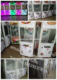 coin vending machine small toy prize claw crane machine for sale