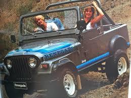 brown jeep cj7 renegade wtb 82 cj7 renegade slate blue metallic paint