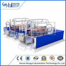 china piggery farm equipment galvanized pig farrowing crates for