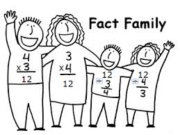math fact families multiplication division multiplication