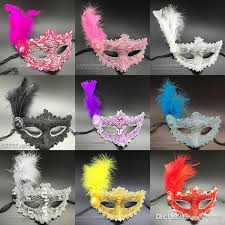 masquerade masks wholesale wholesale feather masquerade venice masks makeup party