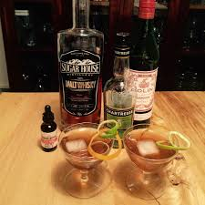 manhattan drink bottle sweet vermouth a bourbon gal in utah