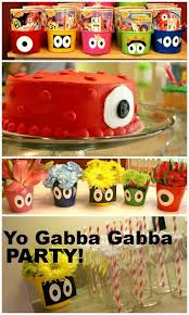 yo gabba gabba birthday cake3d cards 326 best birthday party images on birthday party ideas