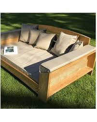 fall is here get this deal on arcut outdoor teak outdoor daybed