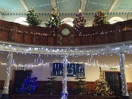 christmas tree festival at liskeard methodist church liskeard
