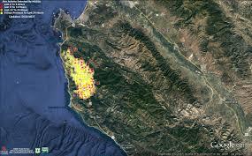 Big Sur Map Soberanes Fire Near Big Sur In Depth Abc10 Com