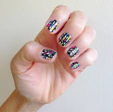 freehand nail art how to parlor diary