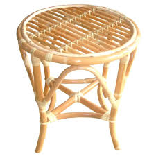 round rattan side table side table rattan side table cane stool or small tropical coastal