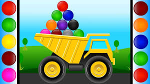 monster trucks kids video digger truck yellow truck monster trucks videos on youtube yellow