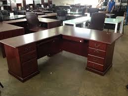 Wood L Shaped Desk Stunning Ideas Large L Shaped Desk Thedigitalhandshake Furniture