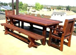 rustic porch furniture rustic wooden outdoor furniture of dining set