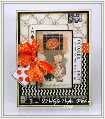 vintage inspired halloween cards polly u0027s paper studio