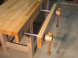 Woodworking Bench Vise Installation by Quick Acting Vise Reinvented New Design By Len Hovarter
