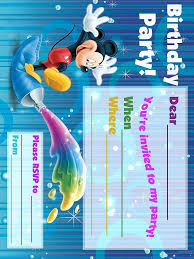 mickey mouse clubhouse birthday invites free mickey mouse party printables u2013 little wish parties