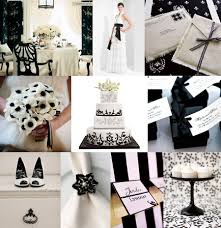 black and white wedding ideas classic black and white wedding inspirations theme ideas