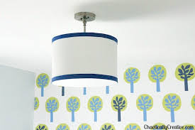 how much to install a light fixture drum light diy chaotically creative