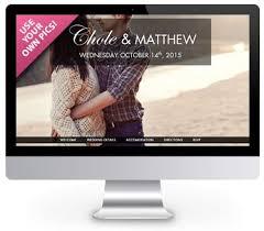 free personal wedding websites 15 best wedding websites images on