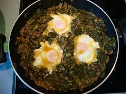 recette de cuisine turc la cuisine de mon pays la turquie epinards à la viande et oeufs