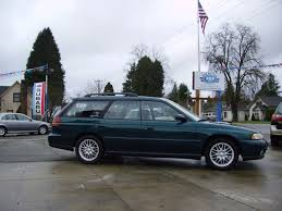 lowered subaru legacy 1997 subaru legacy gt in green awd auto sales