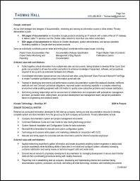 Writers Resume Template Technical Writer Resume Example And Expert Tips